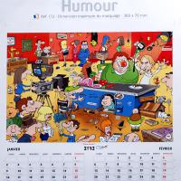 Calendrier humour - 2012